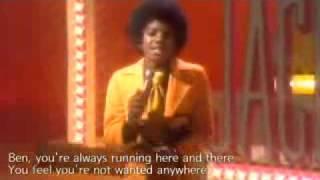 Michael Jackson Ben + Lyrics