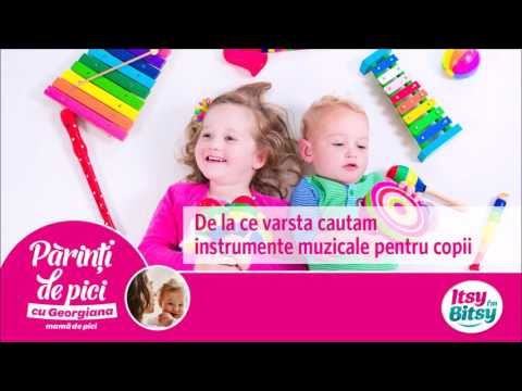 De la ce varsta cautam instrumente muzicale pentru copii