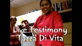 UNCUT Tazza Di Vita Anti-aging coffee Live Testimony from Tina