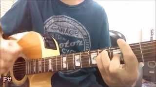Sangrando sem corte - Cristiano Araújo -- Violão Instrumental (com letra e cifra)
