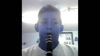 Yo en mis clases de musica