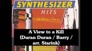 A View to a Kill (Duran Duran / Barry / arr. Starink)