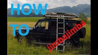 HOW TO build up a JIMBA JIMBA roof tent