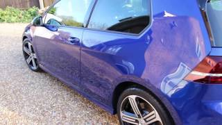Volkswagen Golf R MK7 CQuartz Ceramic Coating - Amazing Gloss!!