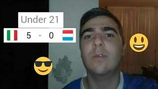 Italia-Lussemburgo 5-0 (u21) | Molto bene ragazzi! Sveglia Kean e Zaniolo, per il resto bene! 😉