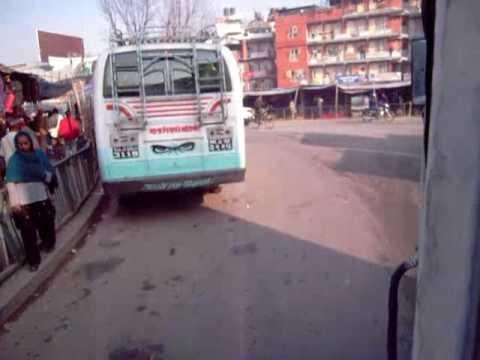 Local Bus in Nepal from Kathamendu to  Beshishahar_01.mp4