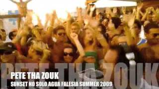 PETE THA ZOUK SUNSET NO SOLO AGUA FALESIA SUMMER 2009