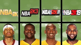 Highest Rated Basketball Players Ever In NBA 2K Games (NBA 2K - NBA 2K19)