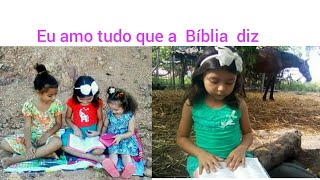 Mayssa Edlen :Eu amo tudo que a Bíblia diz.