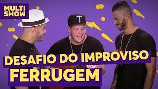 Chininha & Príncipe desafiam Ferrugem | TVZ ao Vivo | Multishow