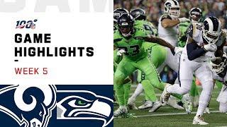 Rams vs. Seahawks Week 5 Highlights   NFL 2019