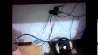 Ligando a luz com three way e rpi, utilizando um rele e um transistor!!!!