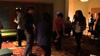 Dancing 6 at the Friday night party - video by Susan Quinn Sand