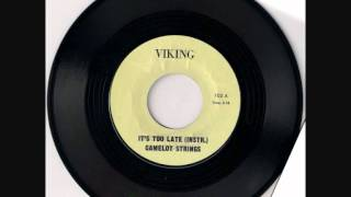 camelot strings - It's Too Late (Instr.)