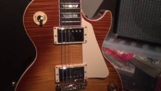 2016 Gibson Les Paul Standard Pickguard Removal