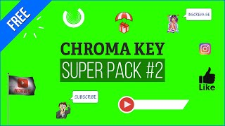 Chroma Key Super Pack #2 [Fundo Verde - Green Screen]