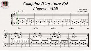 Comptine D'un Autre Été, L'après - Midi, (Die Fabelhafte Welt der Amélie) - Yann Tiersen, Piano