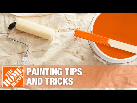 A video on painting tips and tricks.