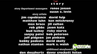 Toy Story 2 End Credits on Kabillion