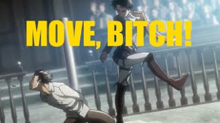 25 ☆ attack on titan move bitch moments ☆ HD