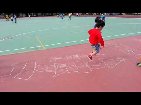 20161121畫格子跳房子7 - YouTube