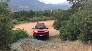 Off Roading On Rampart Range Road