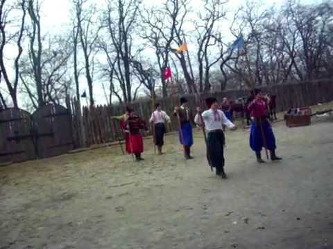 Остров Хортица , Украина, 1 марта 2012 _ 1 часть.AVI