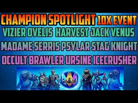 Champion Spotlight 10x Edition I Raid Shadow Legends
