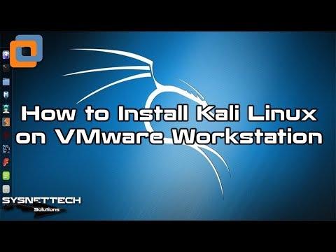 VMware Workstation Kullanarak Kali Linux Kurma