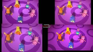 The Backyardigans Intro Comparsion Season 1 2 3 4