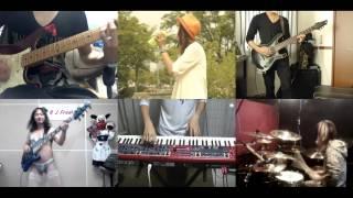 [HD]Akame ga Kill! OP [Skyreach] Band cover