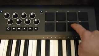 Getting the right sounds on the M-Audio Axiom 49 or 61 (Mkii) Pads