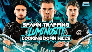 TRAPPING LUMINOSITY IN THEIR SPAWN!! LOCKING DOWN HILLS! (COD: BO4)