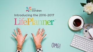 Erin Condren 2016-17 LifePlanner™: Build Your Own Book
