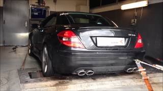Mercedes SLK55 AMG with Kleemann NASP tuning and 417hp / 573nm