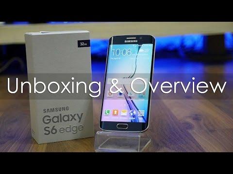 فتح صندوق ومراجعه جالاكسي اس6 ايدج ومقارنه مع الاس 6 | Galaxy S6 Edge