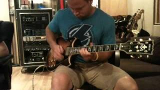 "Sam Koon guitar solo ""Wicked Witch"""