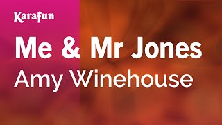 Karaoke Me & Mr Jones - Amy Winehouse *