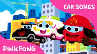 Super Brave Cars | Car Songs | PINKFONG Songs for Children