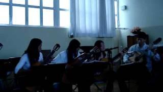 Camerata de Violões tocando Vera Cruz de Milton Nascimento