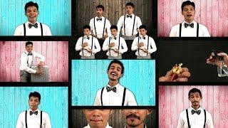 A unique cover of romantic song 'Main tenu samjhawan' (Using Acapella & Home Accessories)