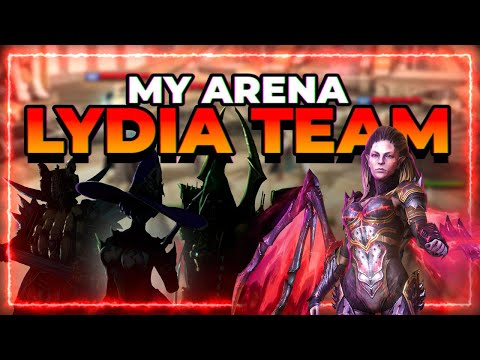 My BEST Lydia Centric Team | Easy Auto Medals! |  RAID Shadow Legends