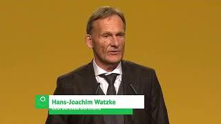 Hans-Joachim Watzke stichelt bei Jahreshauptversammlung gegen FC Bayern München