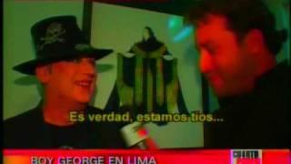 entrevista a boy george - 1