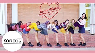 [Koreos] TWICE (트와이스) - Heart Shaker Dance Cover 댄스커버