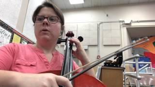 Dragon slayer cello