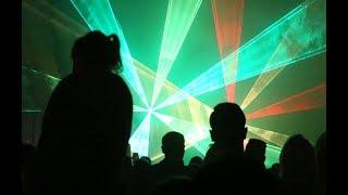 Pokaz laserów podczas Dni Międzyrzecza
