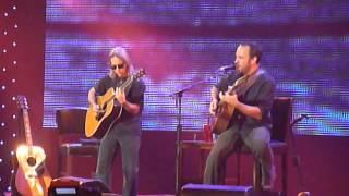 "Dave Matthews & Tim Reynolds performing ""So Damn Lucky"" at Farm Aid 2013"