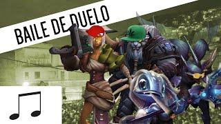 Baile de Duelo - Baile de favela Parodia  (league of legends)