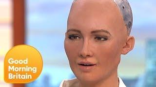 Deze robot beweegt als een mens